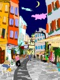 rue Calvi, France, 2004 Microsoft Word, Adobe Illustrator